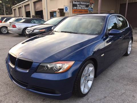 2006 BMW 3 Series for sale at Budget Motorcars in Tampa FL