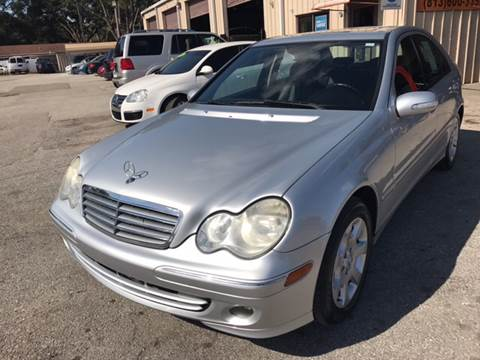 2006 Mercedes-Benz C-Class for sale at Budget Motorcars in Tampa FL