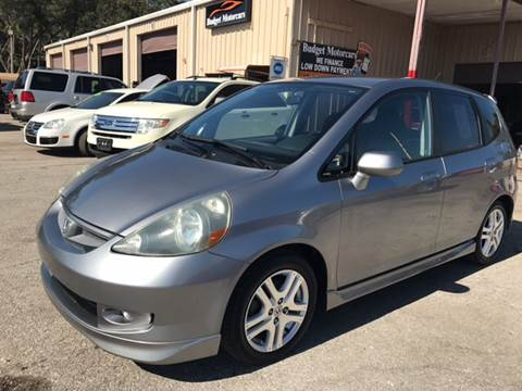 2007 Honda Fit for sale at Budget Motorcars in Tampa FL