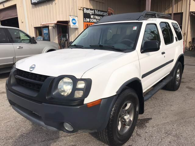 2002 Nissan Xterra for sale at Budget Motorcars in Tampa FL