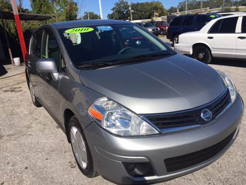 2010 Nissan Versa for sale at Budget Motorcars in Tampa FL