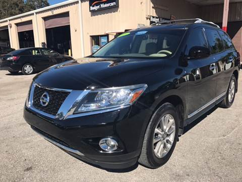 2013 Nissan Pathfinder for sale at Budget Motorcars in Tampa FL