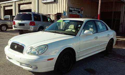 2003 Hyundai Sonata for sale at Budget Motorcars in Tampa FL