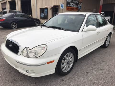 2005 Hyundai Sonata for sale at Budget Motorcars in Tampa FL