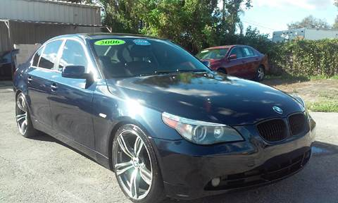 2006 BMW 5 Series for sale at Budget Motorcars in Tampa FL