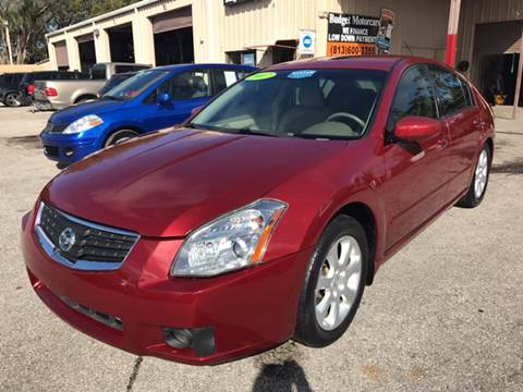 2007 Nissan Maxima for sale at Budget Motorcars in Tampa FL