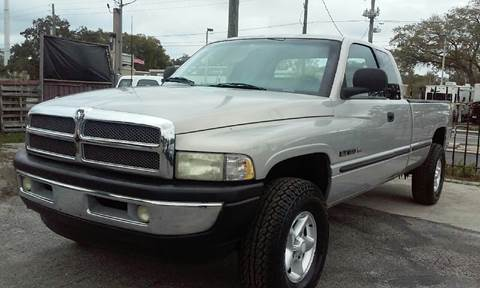1999 Dodge Ram Pickup 1500 for sale at Budget Motorcars in Tampa FL