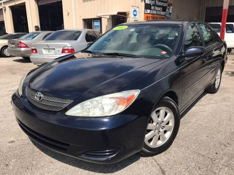 2002 Toyota Camry for sale at Budget Motorcars in Tampa FL
