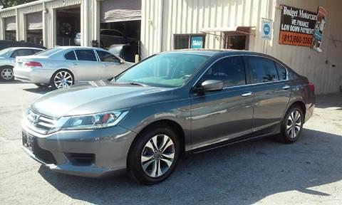 2014 Honda Accord for sale at Budget Motorcars in Tampa FL