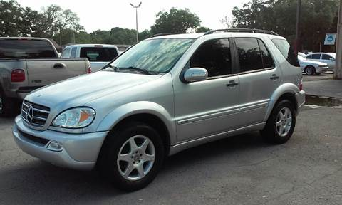 2002 Mercedes-Benz M-Class for sale at Budget Motorcars in Tampa FL