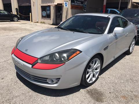 2008 Hyundai Tiburon for sale at Budget Motorcars in Tampa FL