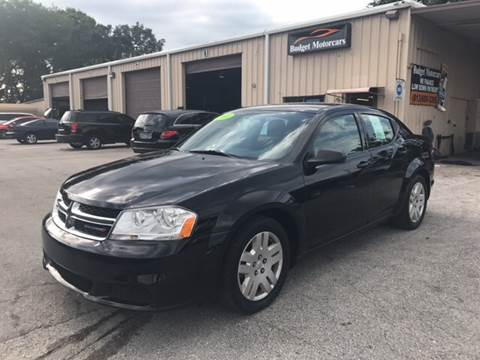 2014 Dodge Avenger for sale at Budget Motorcars in Tampa FL