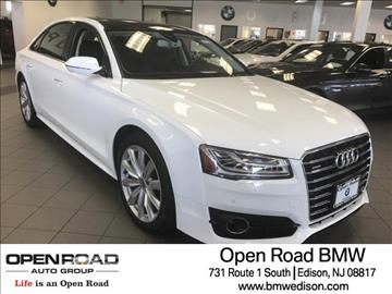 2017 Audi A8 L for sale in Edison, NJ