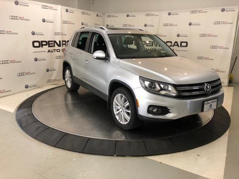 2016 Volkswagen Tiguan for sale in New York, NY