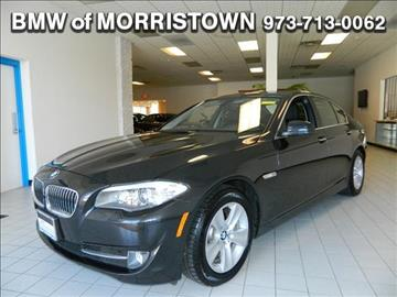 2013 BMW 5 Series for sale in Morristown, NJ