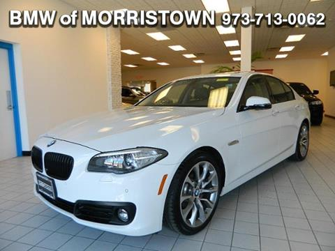 2016 BMW 5 Series for sale in Morristown, NJ