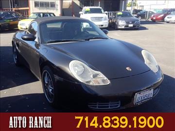2000 Porsche Boxster for sale in Santa Ana, CA