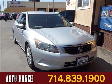 2009 Honda Accord for sale in Santa Ana, CA
