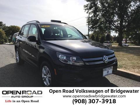 2015 Volkswagen Tiguan for sale in Bridgewater NJ