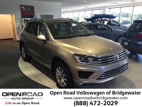 2016 Volkswagen Touareg for sale in Bridgewater, NJ