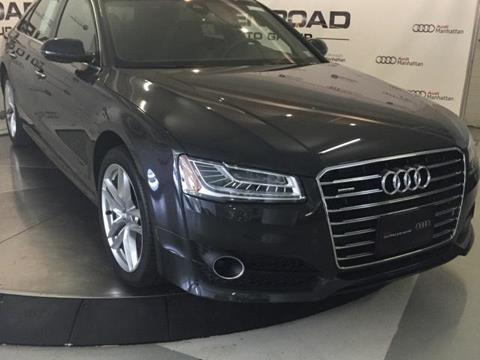 2017 Audi A8 L for sale in New York, NY