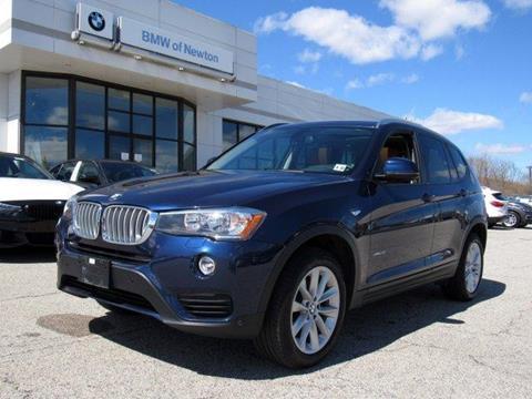 2017 BMW X3 for sale in Newton, NJ
