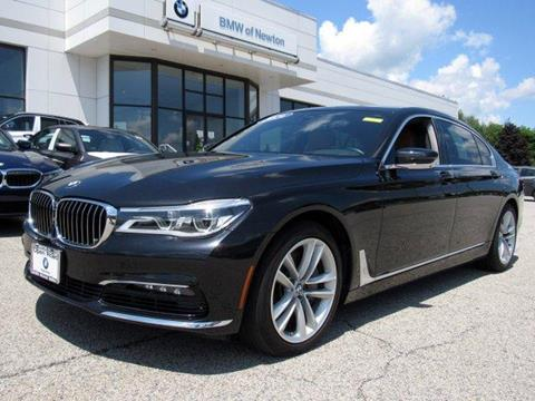 2016 BMW 7 Series for sale in Newton, NJ