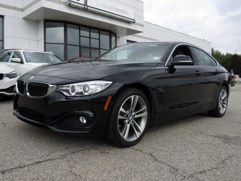 2016 BMW 4 Series for sale in Newton, NJ