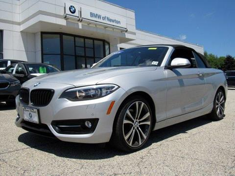 2016 BMW 2 Series for sale in Newton, NJ