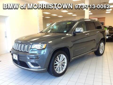 2017 Jeep Grand Cherokee Summit for sale at BMW of Newton in Newton NJ