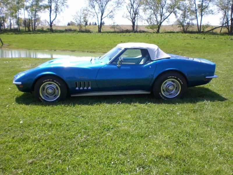 1969 Chevrolet Corvette for sale at Markham Motors in Perry MI