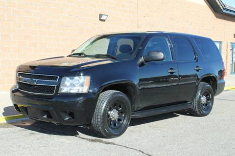 2010 Chevrolet Tahoe for sale at Markham Motors in Perry MI