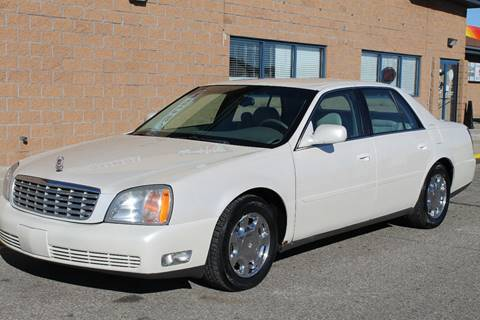 2000 Cadillac DeVille for sale at Markham Motors in Perry MI