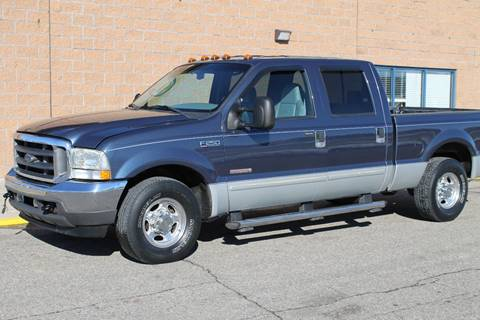 2004 Ford F-250 Super Duty for sale at Markham Motors in Perry MI