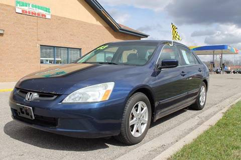 2003 Honda Accord for sale at Markham Motors in Perry MI