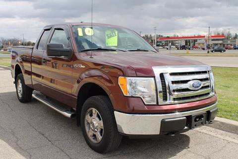 2010 Ford F-150 for sale at Markham Motors in Perry MI