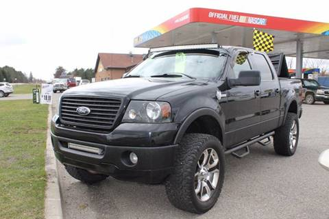 2008 Ford F-150 for sale at Markham Motors in Perry MI