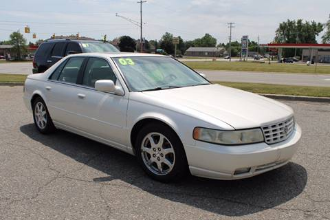 2003 Cadillac Seville for sale at Markham Motors in Perry MI