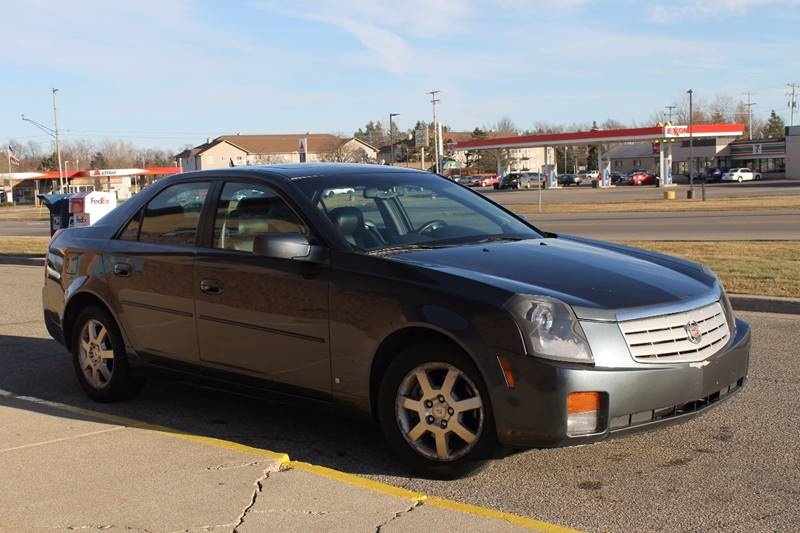 2007 Cadillac CTS for sale at Markham Motors in Perry MI