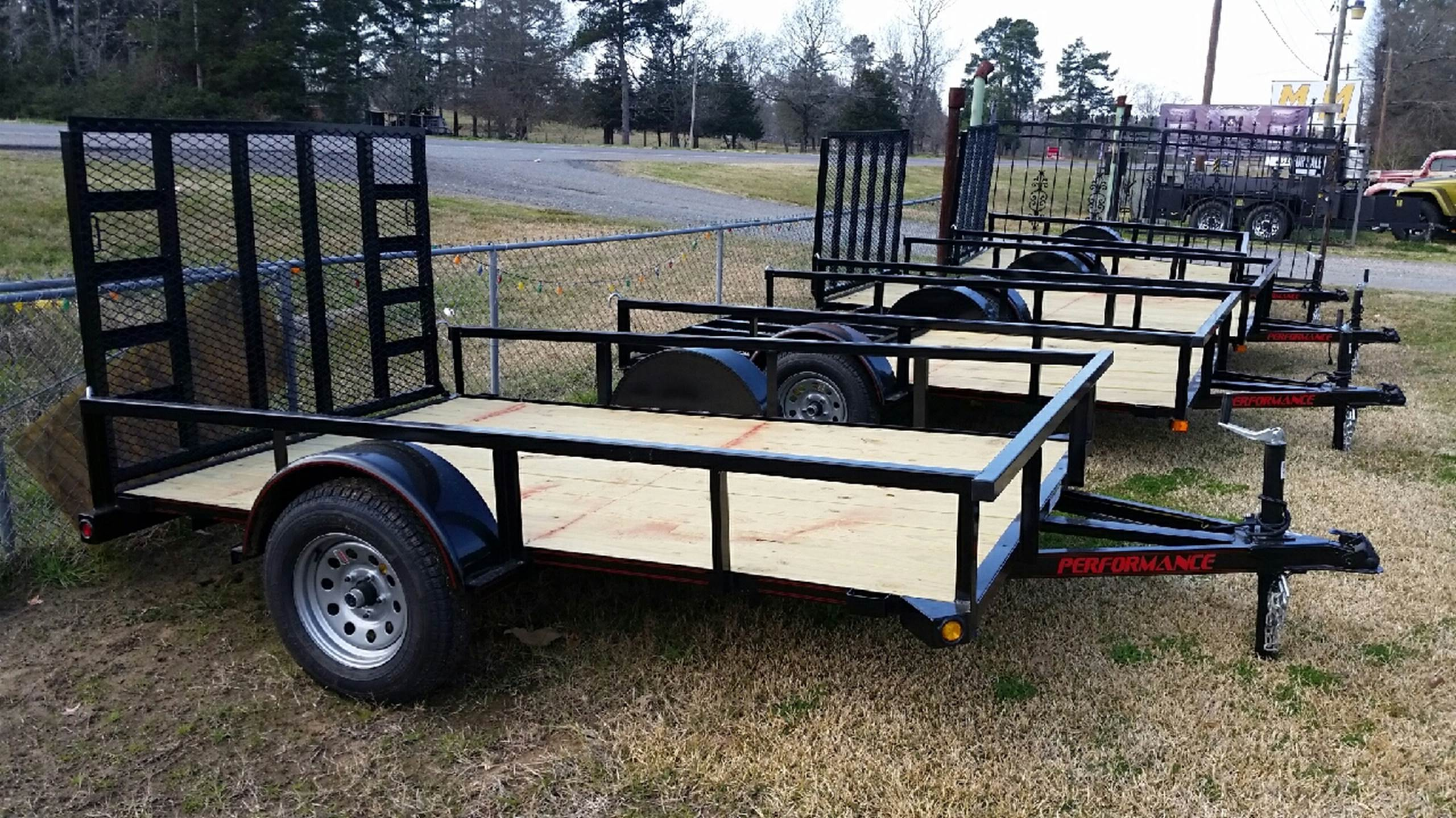 2016 Performance  Sa77x10 for sale at M & M Trailer LLC - Utility Trailers in Shreveport LA