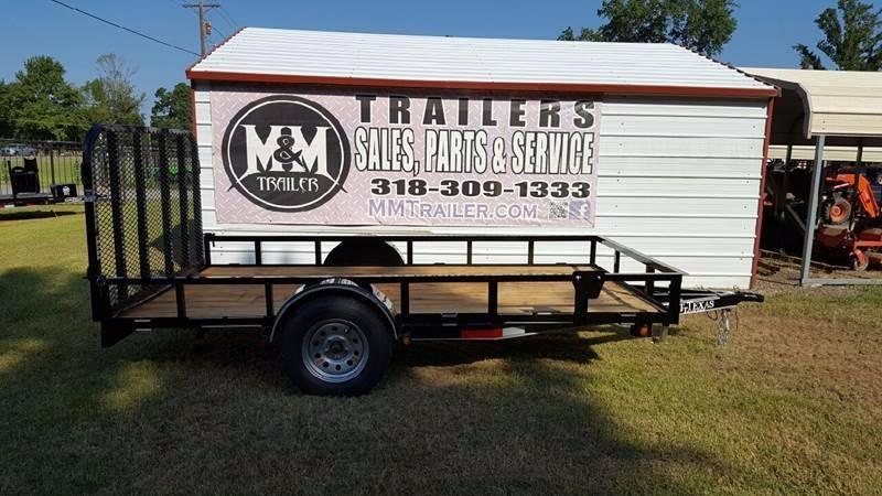 "2016 ETT 77"" x 12' Single Axle for sale at M & M Trailer LLC - Utility Trailers in Shreveport LA"