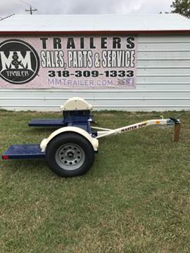 2017 Master tow 80THD Electric brake for sale at M & M Trailer LLC - Car Dolly in Shreveport LA