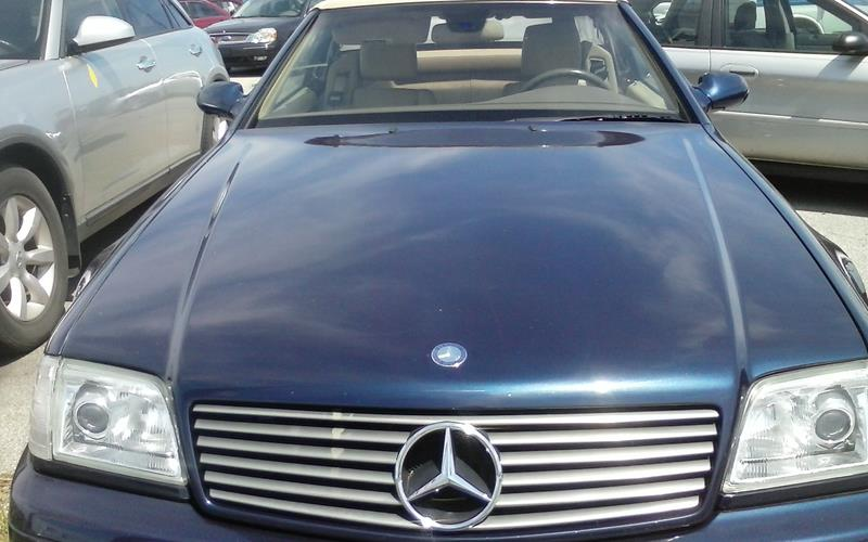 2000 mercedes benz sl class sl 500 in toledo oh toledo for Mercedes benz credit