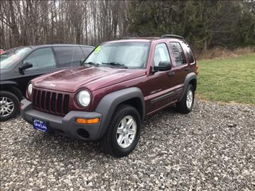 2003 Jeep Liberty for sale in Kingsville, OH