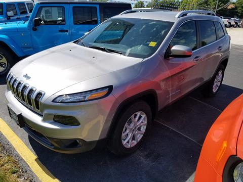 2017 Jeep Cherokee for sale in Jacksonville, IL