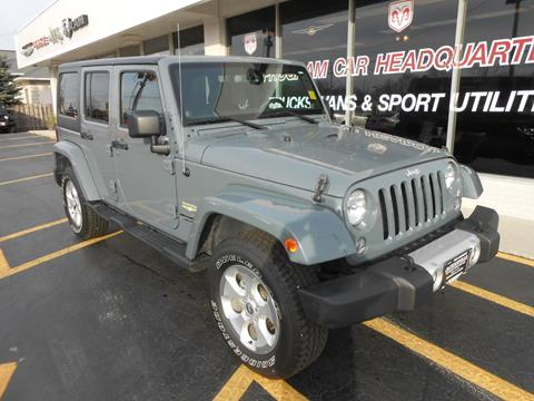 2014 Jeep Wrangler Unlimited for sale in Jacksonville, IL