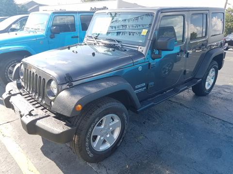 2017 Jeep Wrangler Unlimited for sale in Jacksonville, IL