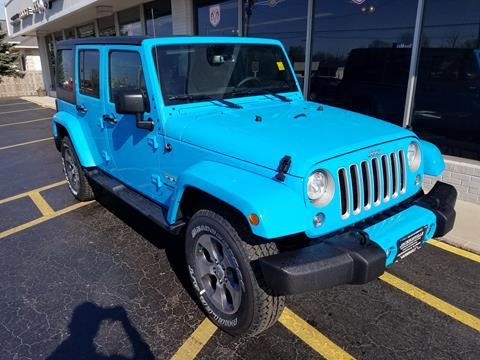 2017 Jeep Wrangler Unlimited for sale in Jacksonville IL