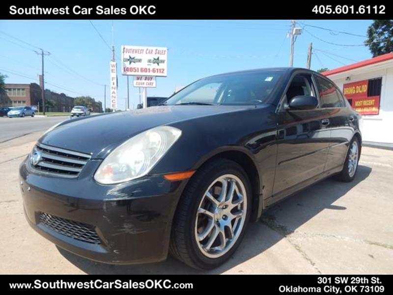 Infiniti Used Cars Bad Credit Auto Loans For Sale Oklahoma City