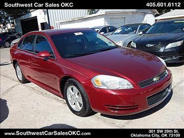 2009 Chevrolet Impala for sale in Oklahoma City, OK